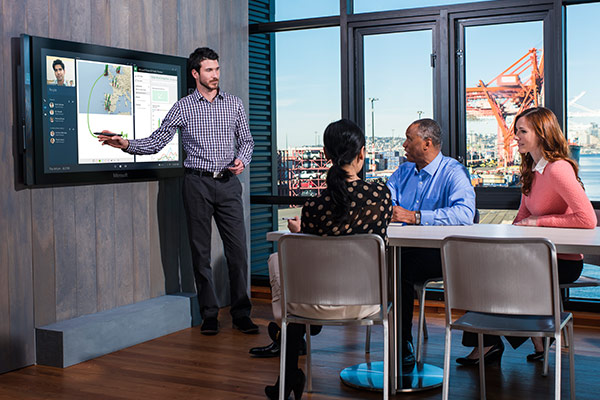 Skype for Business in Surface Hub