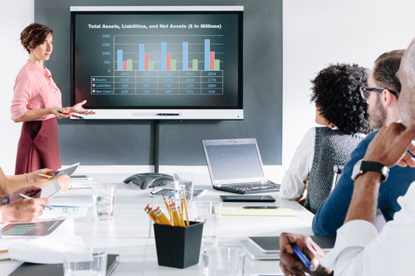 SMART Boards im Business Bereich
